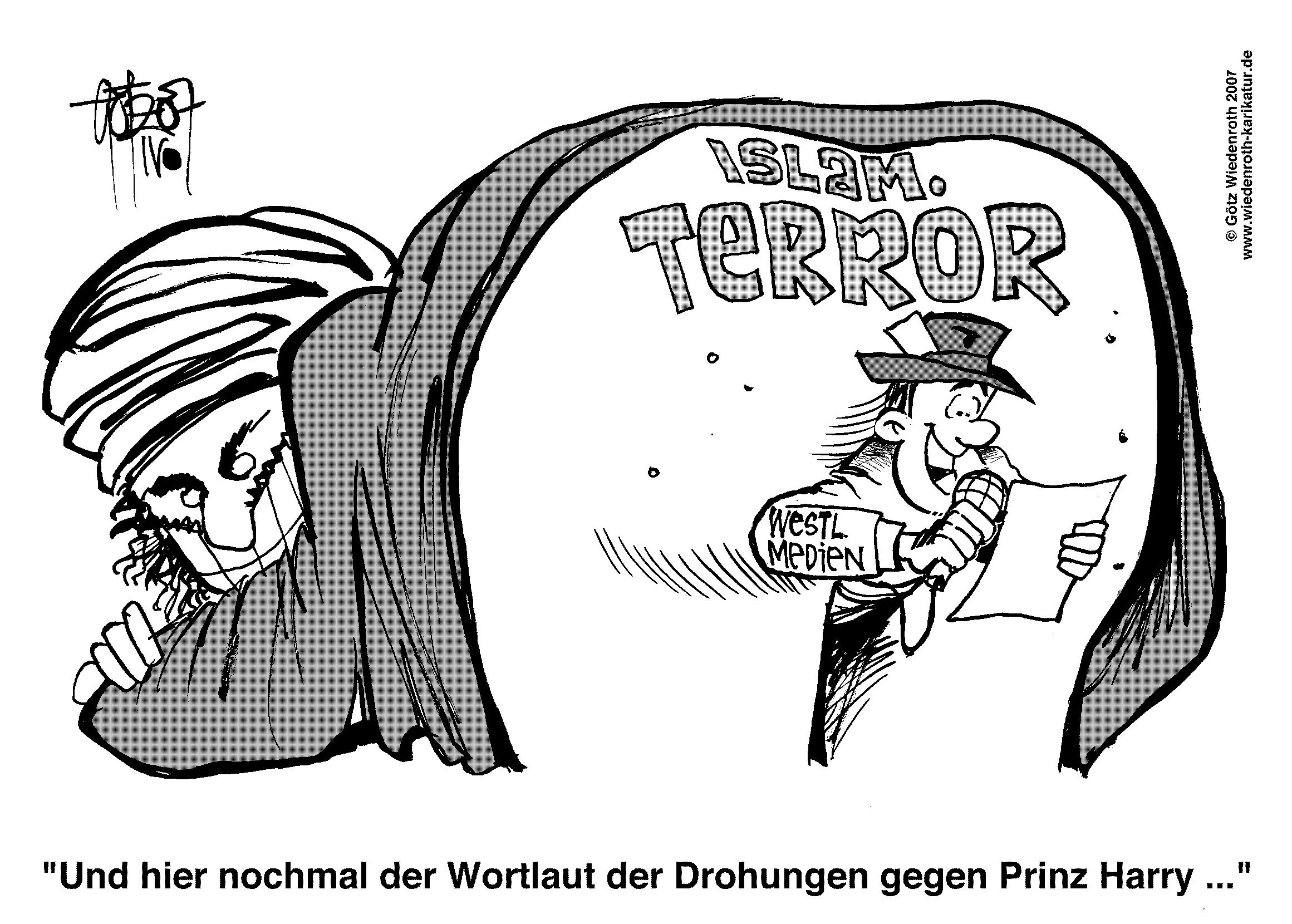 Islam, Terror, Afghanistan, Presse, Medien, Harry Windsor, Prinz Harry