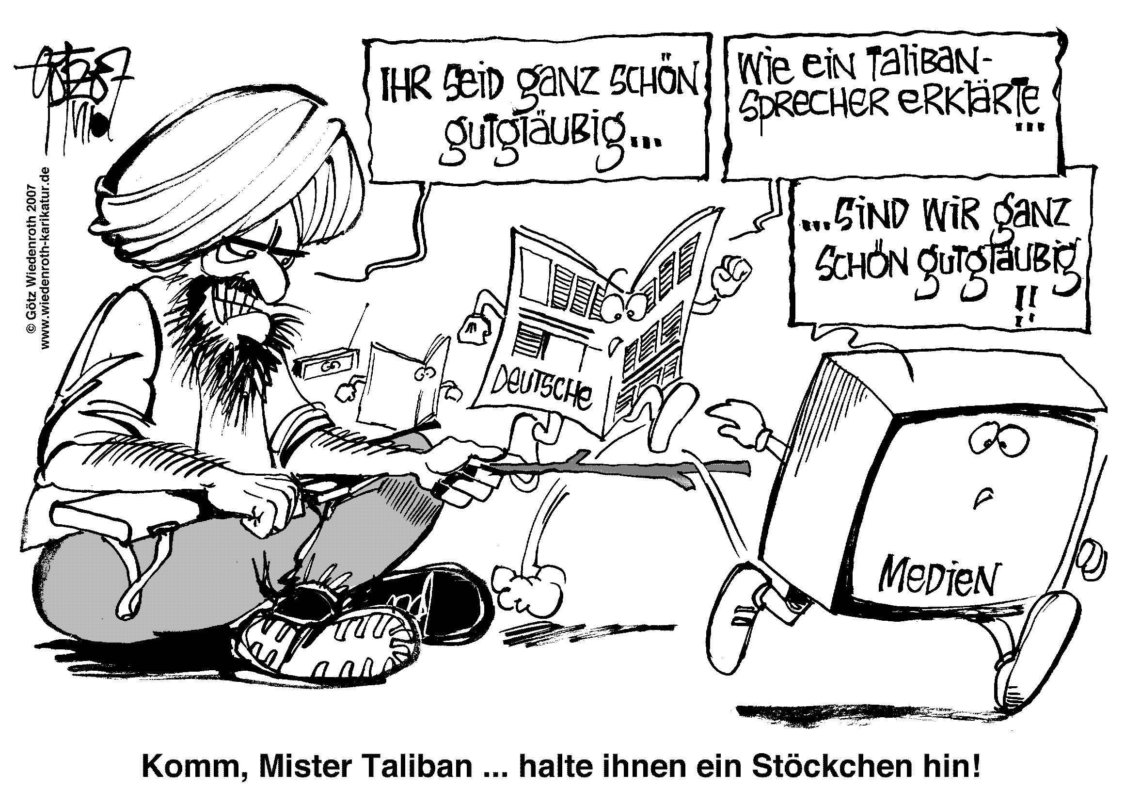 War on Terrorism, Wiedenroth, Karikatur, cartoon, Germany, Allemagne