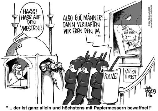 Islam, Meinungsfreiheit, Karikaturenstreit, Gregorius Nekschot