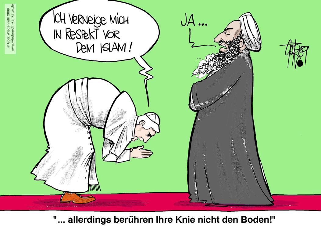 der katholischen Kirche vor dem Islam - eine Einbahnstraße