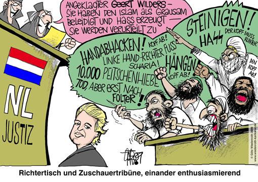 Niederlande, Islam, Kritiker, Geert Wilders, Politiker, Parteichef