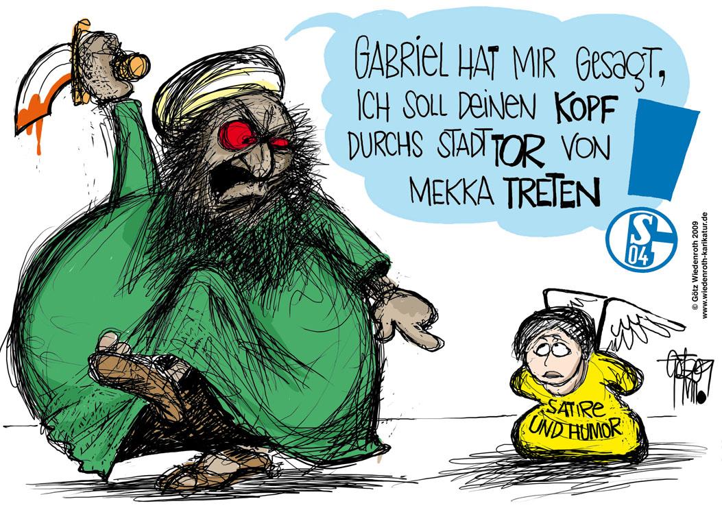 und Fußball: Die Schalke-Hymne tut dem Islam-Propheten unrecht