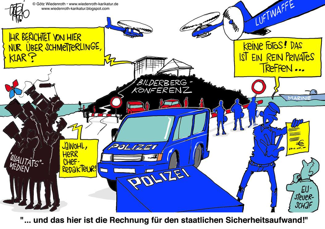bilderberg treffen kosten Heidelberg