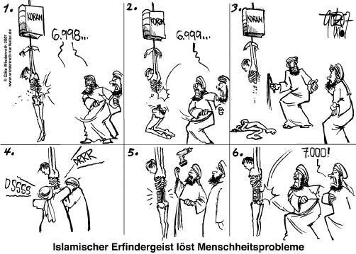 Politik-Karikatur vom 14. November 2007