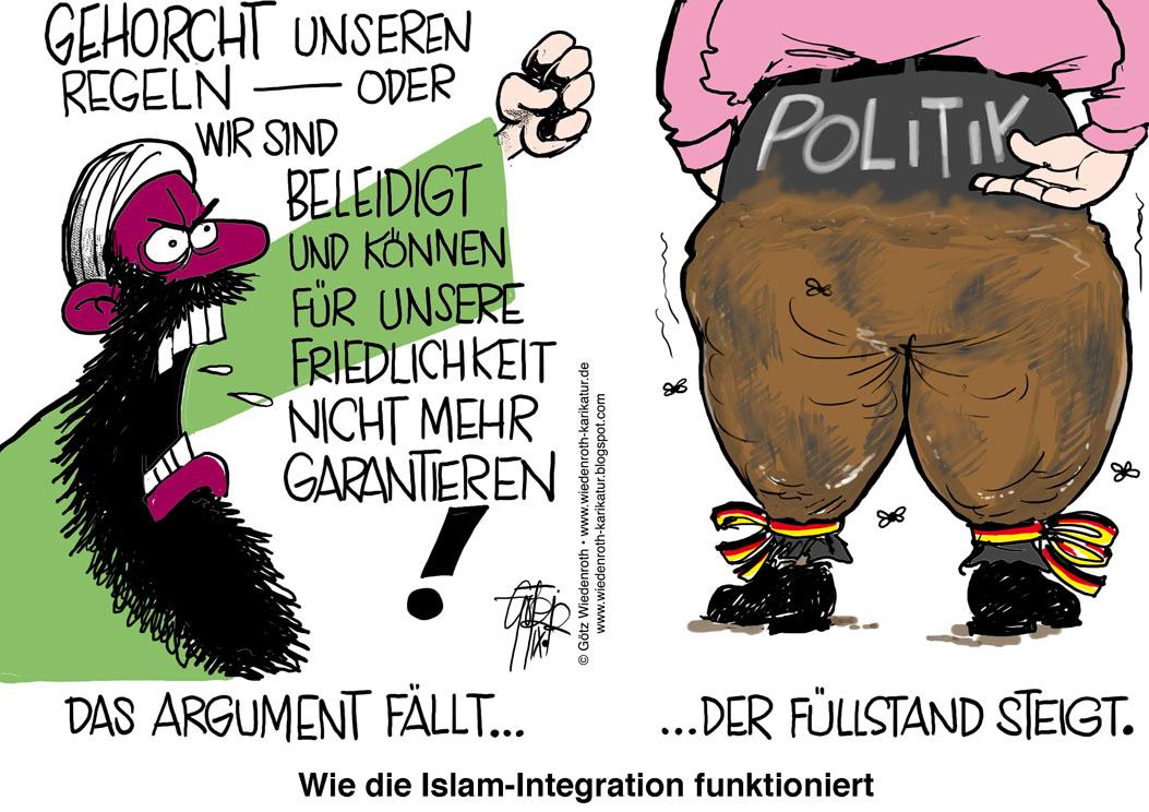 Karikatur+Cartoon+Satire+Politik+Wirtschaft+Zeichnung+Illustration ...: www.wiedenroth-karikatur.de/02_PolitKari120918_Islam_Innocence_of...