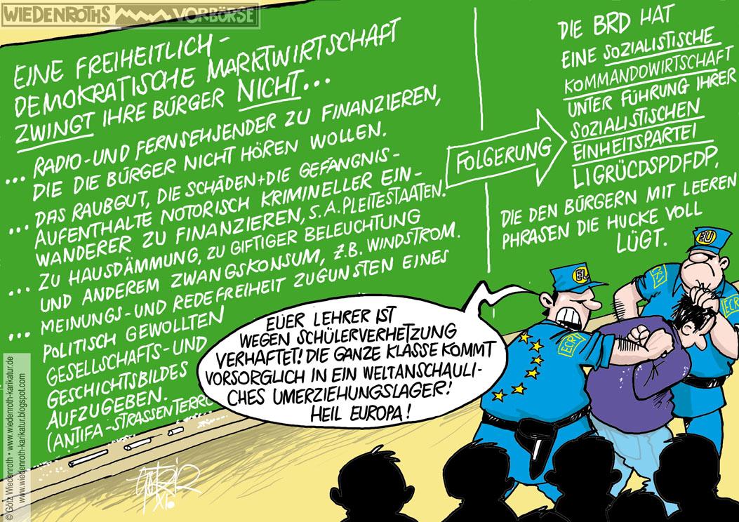 Karikatur+Cartoon+Satire+Politik+Wirtschaft+Zeichnung