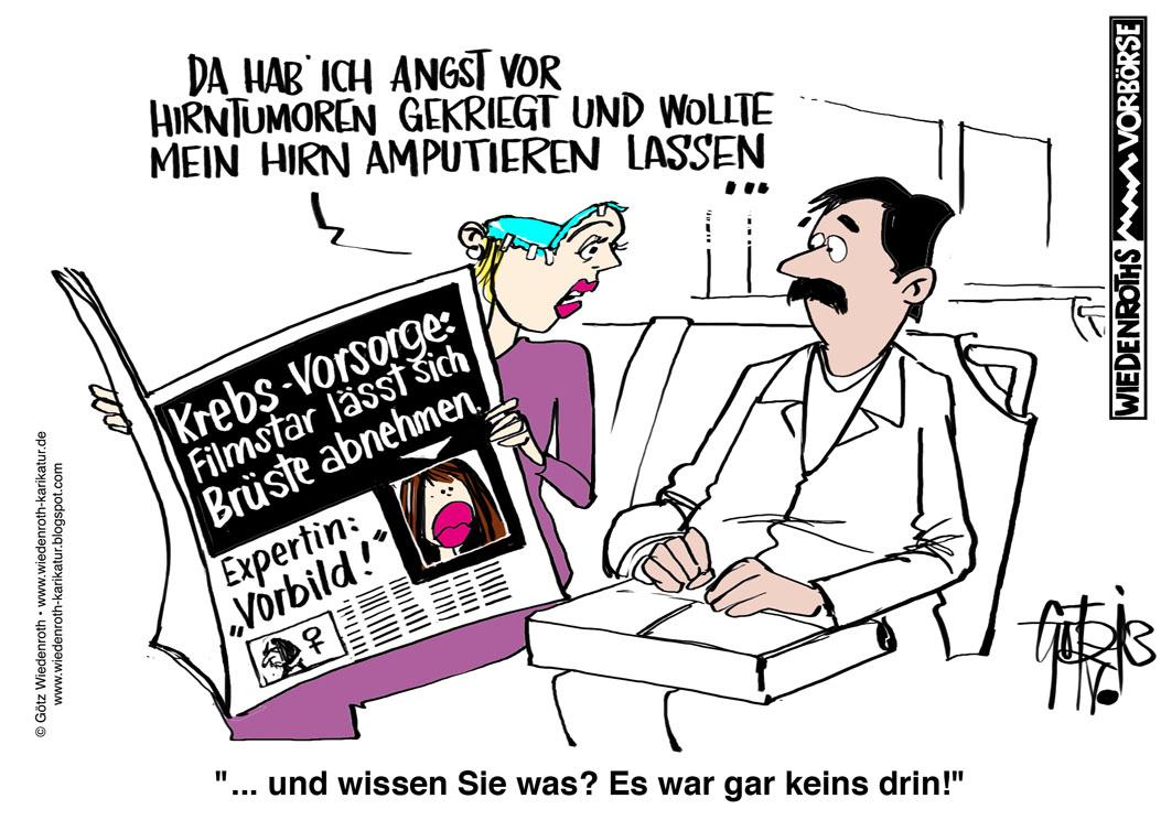 Karikatur+Cartoon+Satire+Politik+Wirtschaft+Zeichnung ... Angelina Jolie