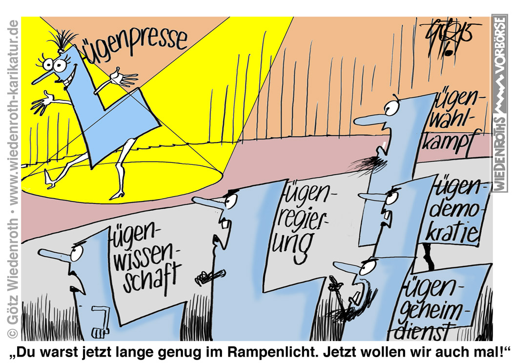 ... ; Geheimdienst, Wiedenroth, Karikatur, cartoon, Germany; Allemagne