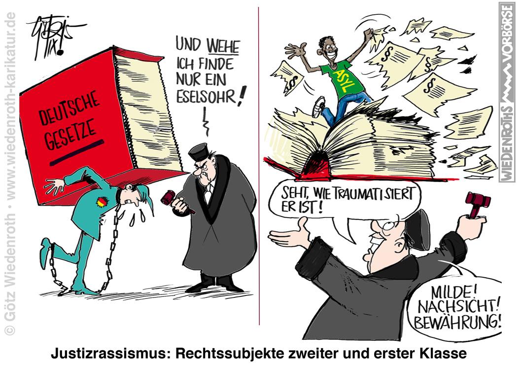 Bildergebnis für flüchtlinge karikatur