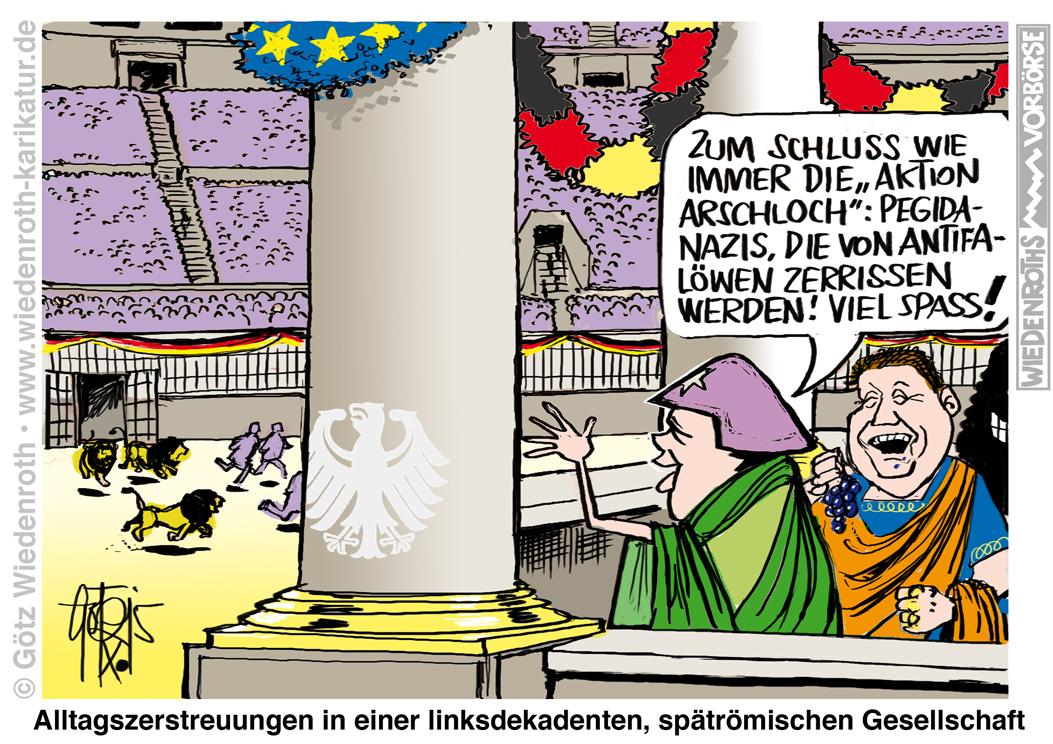Karikaturcartoonsatirepolitikwirtschaftzeichnungillustrationauftragszeichnungen