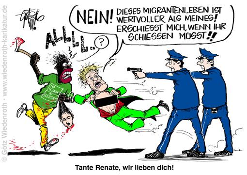 deutsche fick zum 1 mai