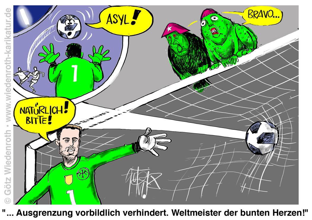 Satire Fußball