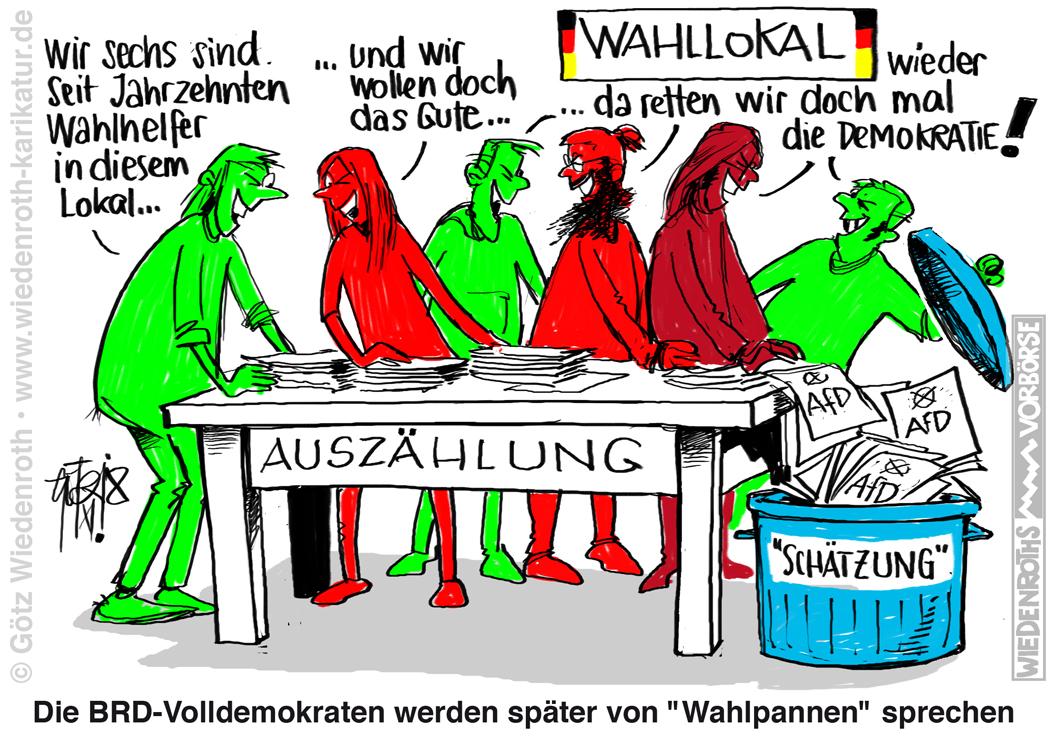 Wahlmanipulation Nrw